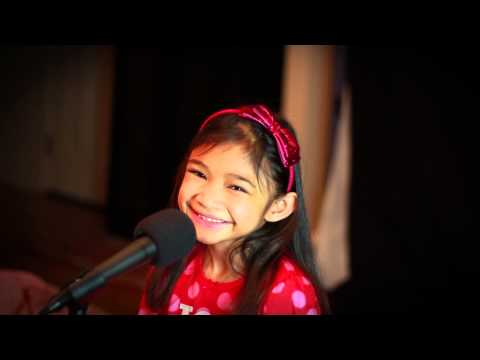 """So This Is Christmas"" practice session Angelica Hale (7 ..."