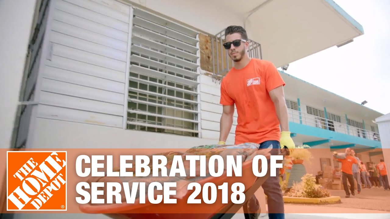 100 000 Hours Of Service Challenge The Home Depot Foundation Youtube