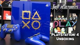 Days of Play Special Edition PlayStation 4 Slim Unboxing