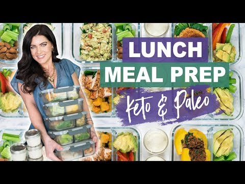 5 Make-Ahead Healthy Lunch Recipes (KETO & PALEO) | Healthy Meal Prep for Weight Loss