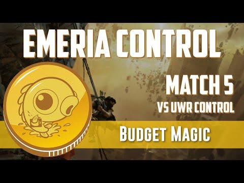 Budget Magic: Mono-White Emeria Control vs UWR Control (Match 5)