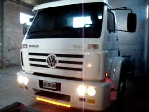Camion Volkswagen 17-310 Worker 2006. - YouTube