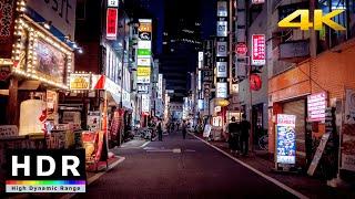 4k 50fps HDR Test  Evening Bike Ride  Shimokitazawa to Shinjuku