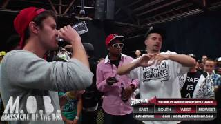Grind Time Now Presents: Rone vs Caustic (formerly kid caustic)