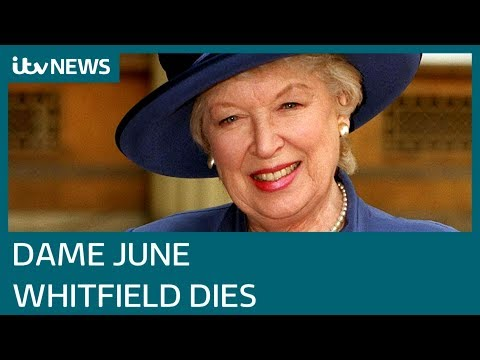 Dame June Whitfield dies aged 93 | ITV News