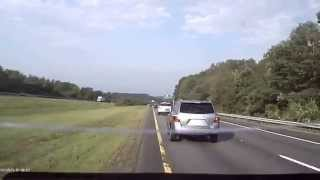 Asshole Driver of the day, 28 JUL 2015 - Red Toyota Echo, NH Plate 353-3846
