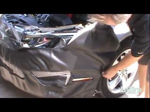 HYUNDAI,SANTA FE,2005 2006 Car Mask Bra Lebra 2 piece Front End Cover Black Fits