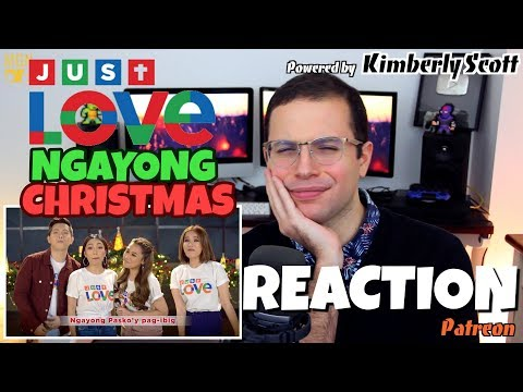 ABS-CBN Christmas Station ID 2017   Just Love Ngayong Christmas   PATREON REACTION
