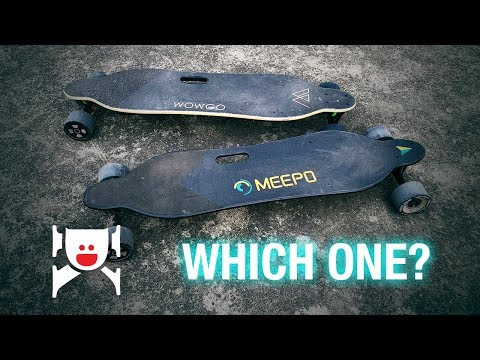 Meepo Board V2 vs  WowGo 2S