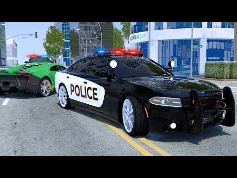 Wheel City Heroes (WCH) - Race Car Tyre in Puddle by Sergeant Lucas The Police Car - Video for Kids