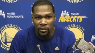 Kevin Durant Claps Back On Shaq:I Didn't Know Cops Can Threaten Civilians.| Durant On Mcgee Defense