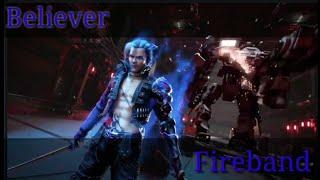 Believer fire band version // free fire // mass tamilan