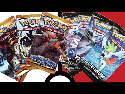 Wacky Wednesday : Legends Awakened and Platinum Pokemon TCG Packs