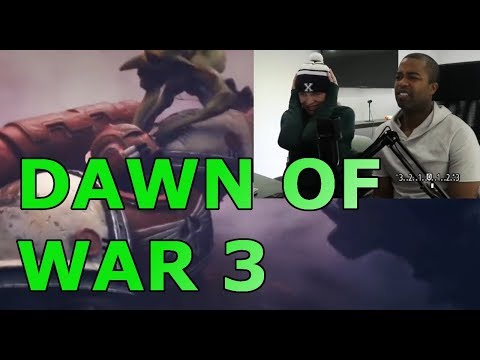 DAWN OF WAR 3 - Cinematic Trailer (REACTION 🔥)