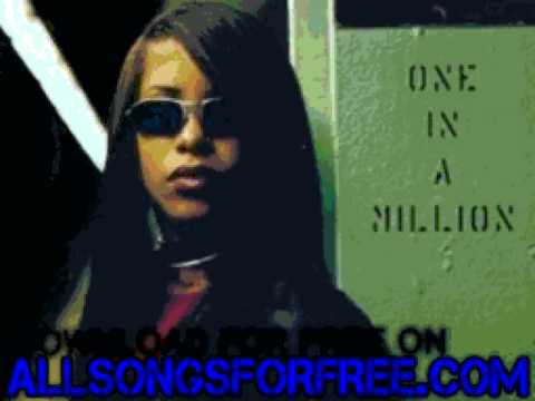 aaliyah  - Never Givin' Up - One in A Million
