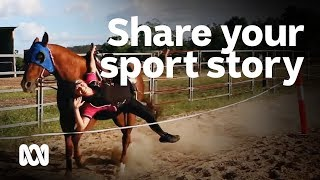 How to do I share my sport story with the world? #YourSportStory