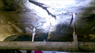 Helmet Cam: Tunnel Curtain Grouting with AV-278 Low Vis Hydro