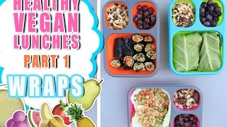 VEGAN AND HEALTHY LUNCH IDEAS FOR WORK+SCHOOL! Part 1