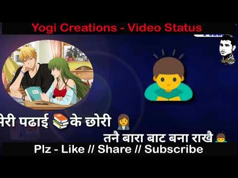 Topper Aagyi tu # New Haryanvi Punjabi whatsapp status 2018