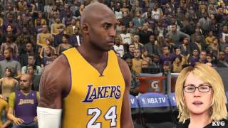 NBA 2K16 - Boston Celtics vs Los Angeles Lakers Gameplay (PC HD) [1080p60FPS]
