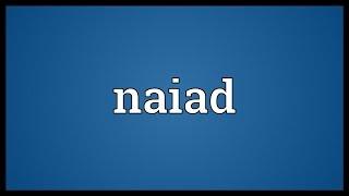 Naiad Meaning