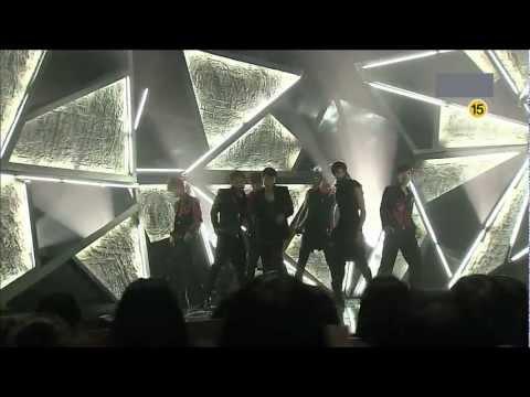 [120922]  SBS Inkigayo Debut 100% - We, 100% + Bad Boy