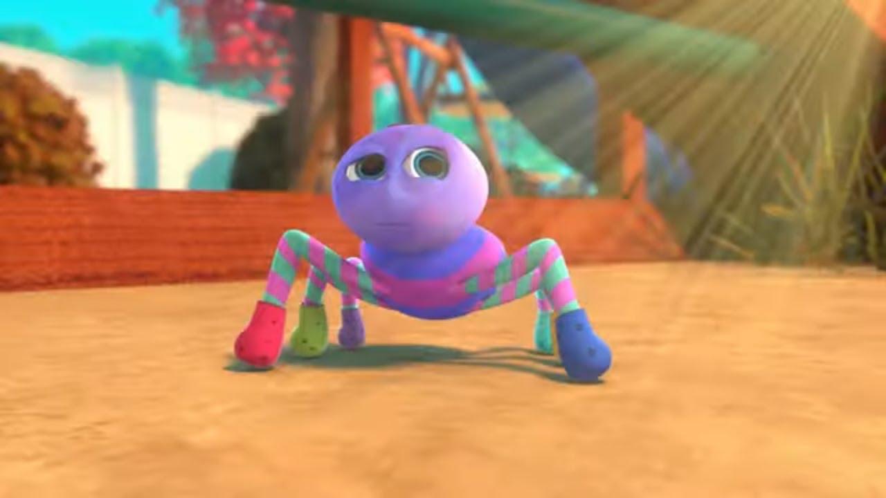 Ну-Ну - Паучок Малютка - Песенки для детей про паучка - Itsy Bitsy Spider Nu-Nu