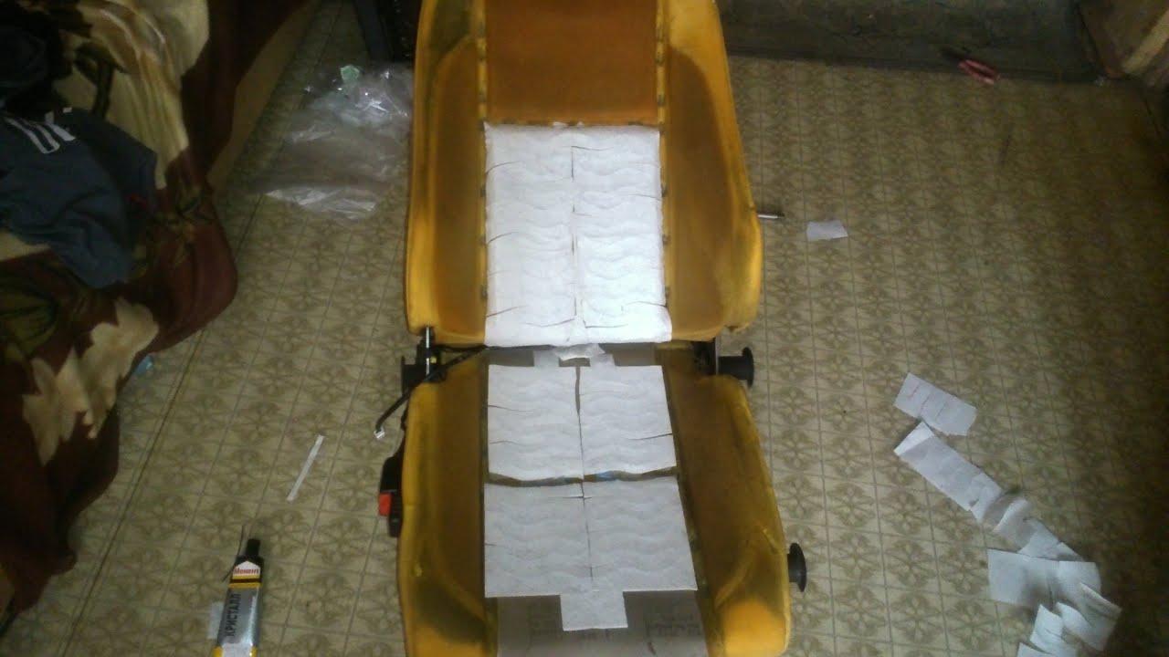 Установка проводки в салоне для подогрева сидений, Емеля УК 2.   Калина 11183