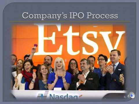 Group 6 -- IPO Case Presentation -- Etsy