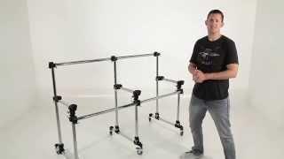 Custom Elevate Workstation for DJ Skribble - Brent