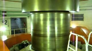 Turbina en la represa de Itaipú Binacional