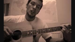 John Denver Leaving on a Jet Plane - Cover by Jonathan David with lyrics