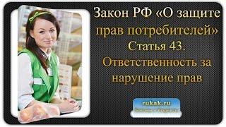 видео Ответственность ИП: административная и имущественная