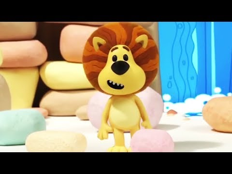 Raa Raa The Noisy Lion | Topsy's Musical Stones | Full Episodes | Kids Cartoon | Videos For Kids