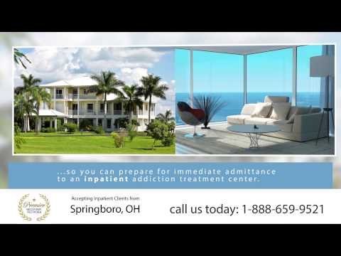 Drug Rehab Springboro OH - Inpatient Residential Treatment