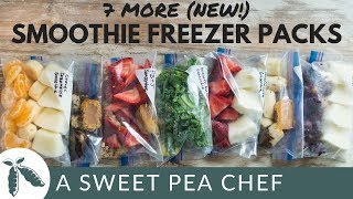 7 More New Smoothie Freezer Packs How To Meal Prep A Sweet Pea Chef