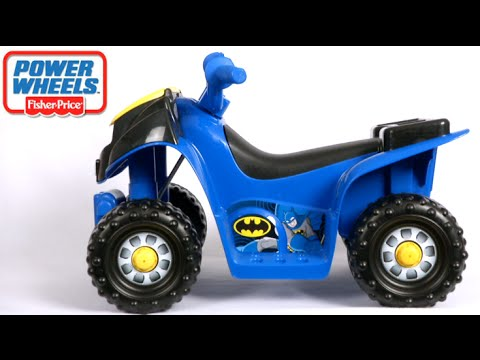 Power Wheels Batman Lil' Quad From Fisher-Price