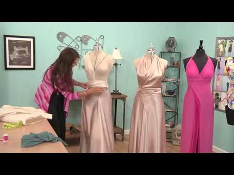Learn How to Drape a Gown || Fashion Design