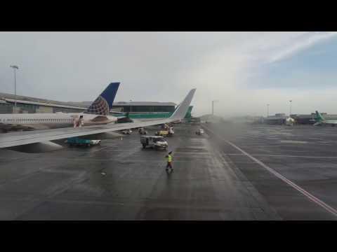American Airlines Boeing 757-200   Dublin To Philadelphia *Full Flight*