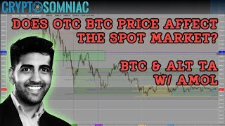📊Does OTC BTC Price Affect the Spot Market?  | Bitcoin & Altcoin Technical Analysis 📈 w Amol