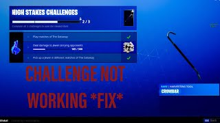 HOW TO FIX THE DEAL DAMAGE TO JEWEL CARRYING OPPONENTS GLITCH IN FORTNITE (HIGH STAKES LTM)