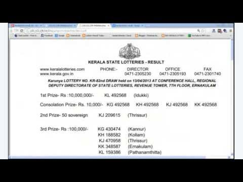 kerala lottery result today live; TODAY KERALA LOTTERY RESULTS Live