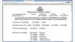 kerala lottery result today live; TODAY KERALA LOTTERY RESULTS Live (keralalotteryresult.net)