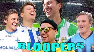 BLOOPERS & BORTTAGNA SCENER (Allsvenskan 2018)