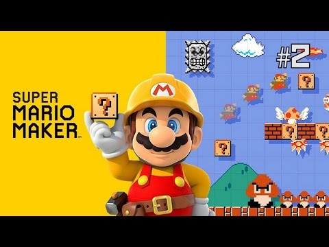 Twitch Livestream | Super Mario Maker Part 2