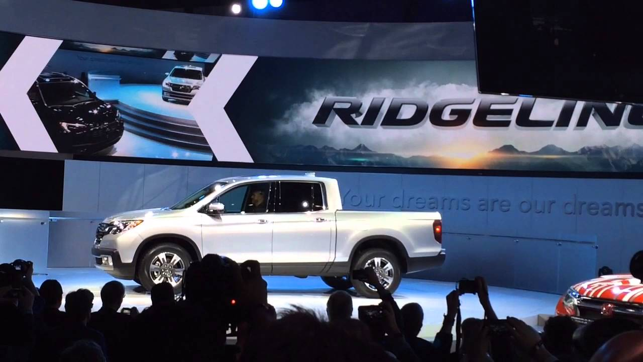 Honda Ridgeline Revealed