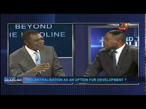 Beyond the headline! Decentralization an Option for Development Debate in Cameroon! Watch..