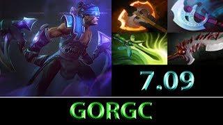 Gorgc [Anti-Mage] Farming To Top 10 EU ► Dota 2 7.09