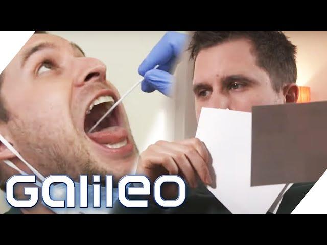 Geruchstest statt PCR-Test? - Der Coronatest für zu Hause | Galileo | ProSieben