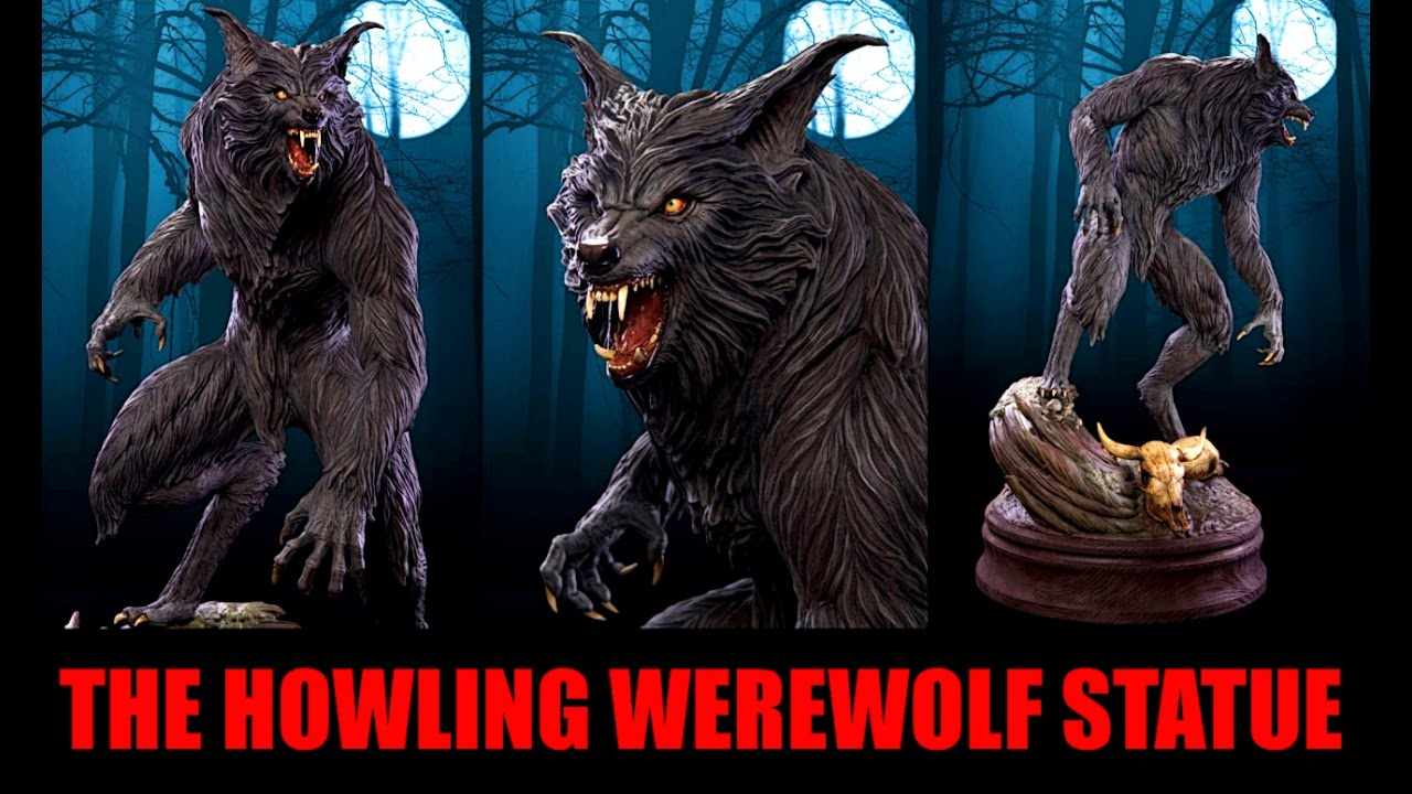 THE HOWLING WEREWOLF STATUE BY PCS COLLECTIBLES - YouTube